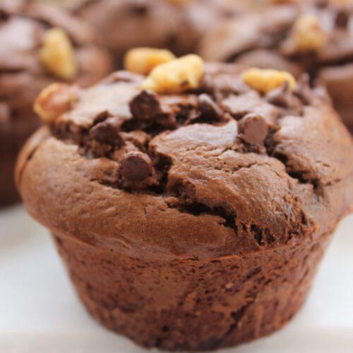 jumbo flourless muffin
