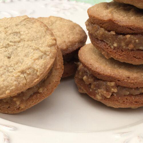 Cashew Caramel Cookie