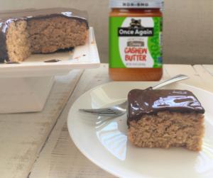 vegan cashew butter cake