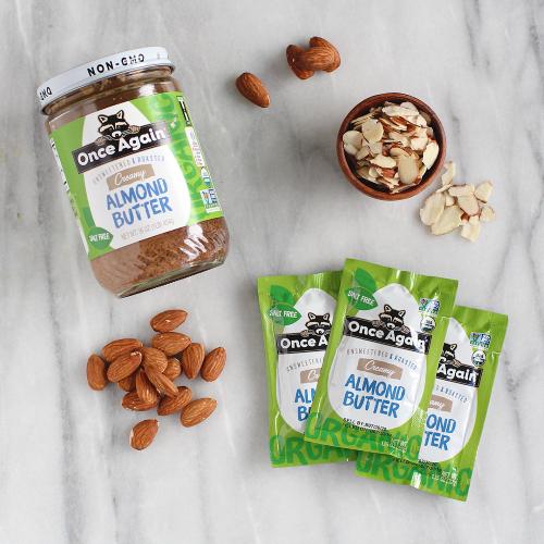natural Almond Butter Packet